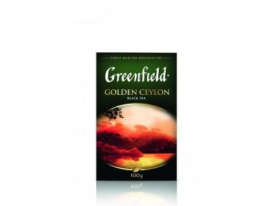 Чай черный листовой Greenfield Golden Ceylon (Гринфилд Голден Цейлон), 100г